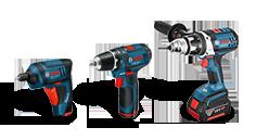 BOSCH® - Akumulatorski odvrtači PROFI